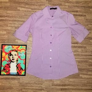 The Limited Striped Purple XS Essential Shirt